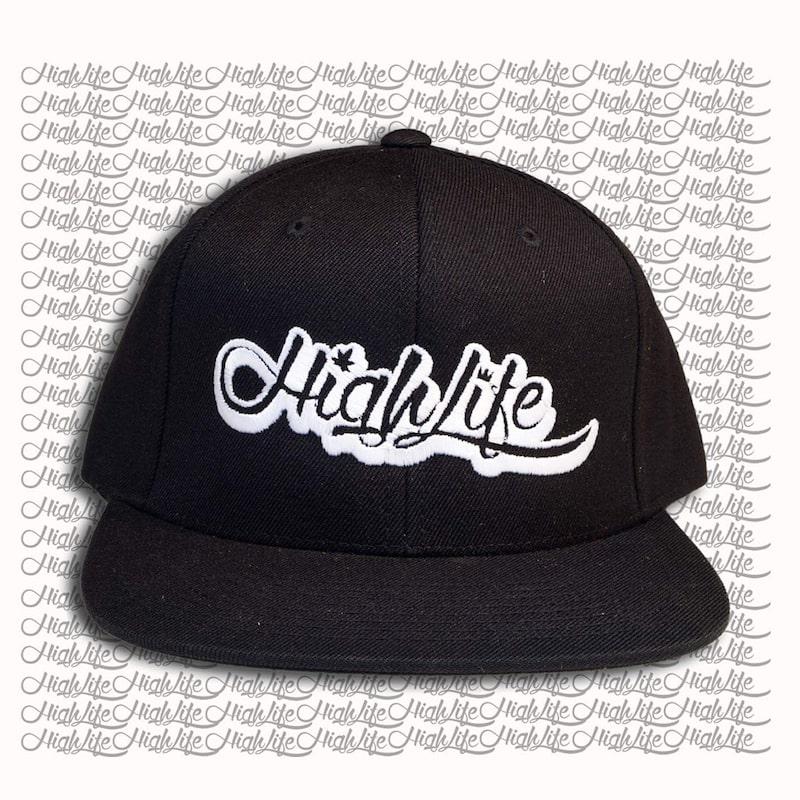 Snapback Hat – HighLife Classic Logo 2.0 Black (Nero)