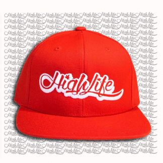 cappello hat highlife rosso