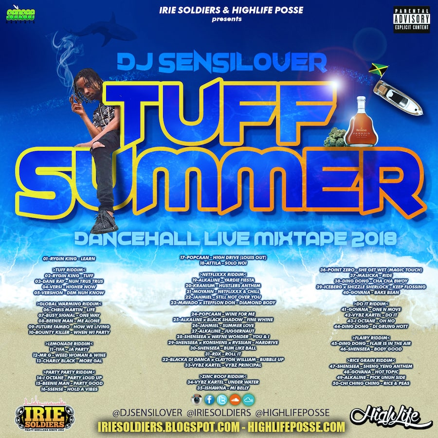 """TUFF SUMMER"" DANCEHALL LIVE MIXTAPE 2018"