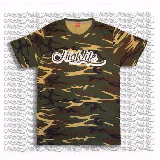 maglietta camouflage mimetica