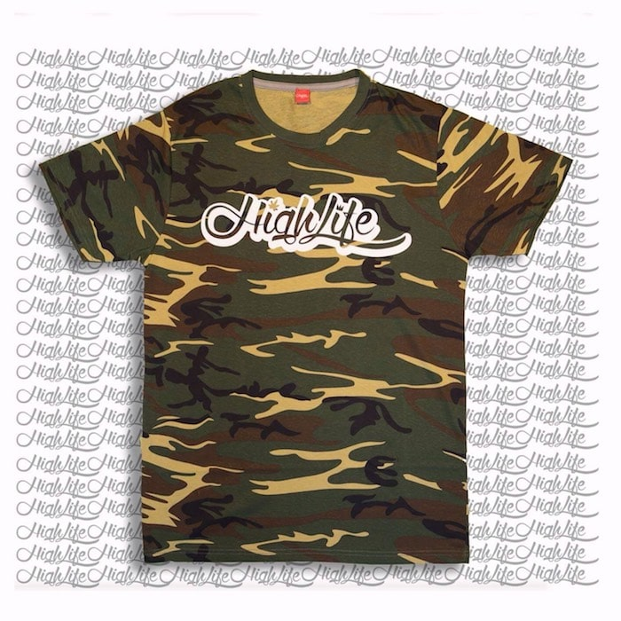 T-Shirt Highlife Camouflage