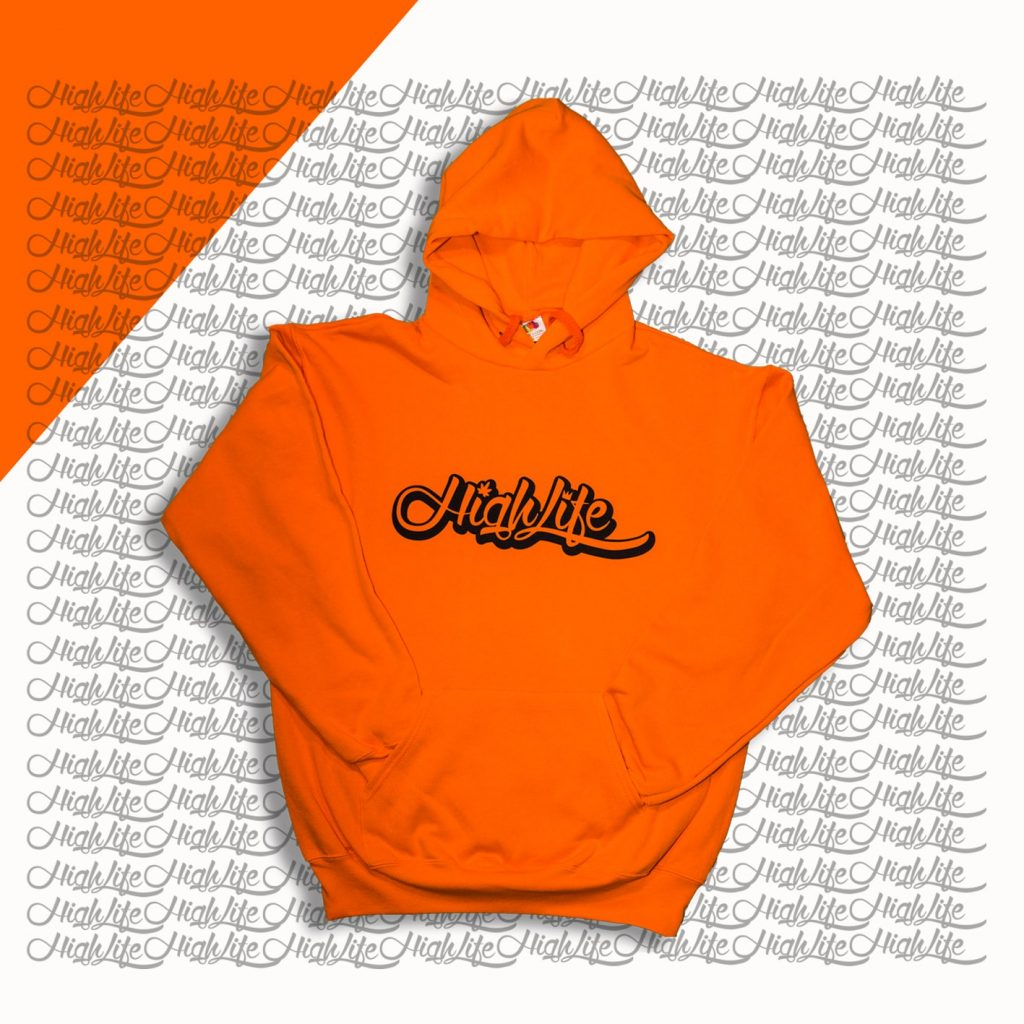 Felpa Highlife Classic Arancione
