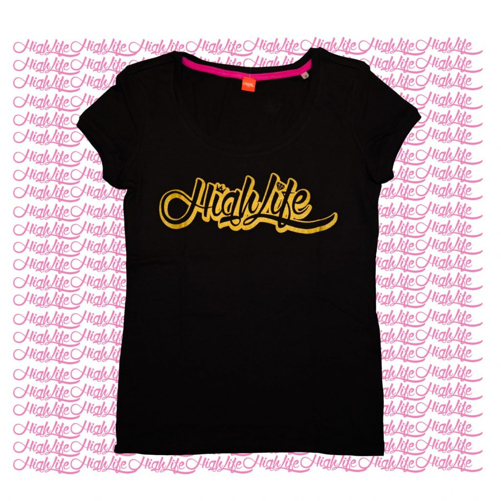 T-Shirt Highlife Queen